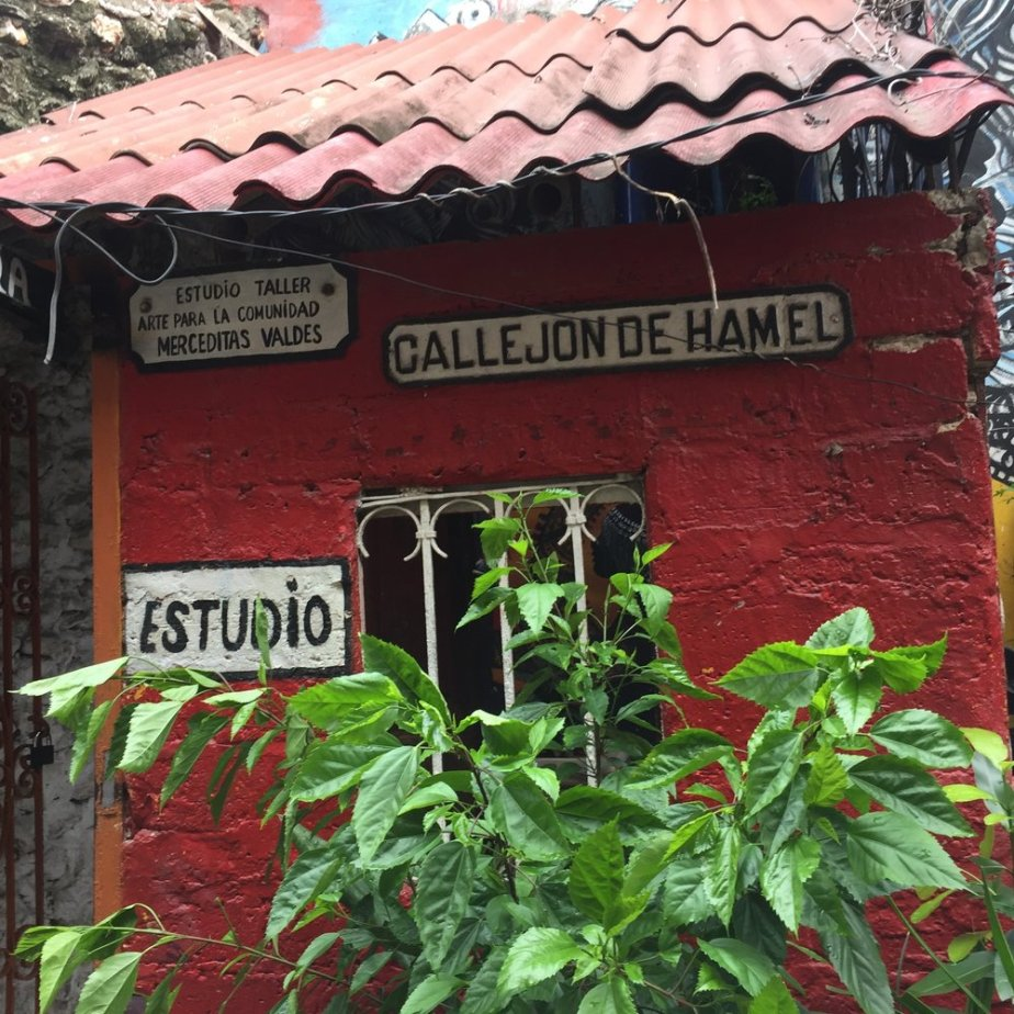 One of the stops during our classic car ride through Havana. This is an art studio and neighborhood that also practiced Santeria. Amazing!