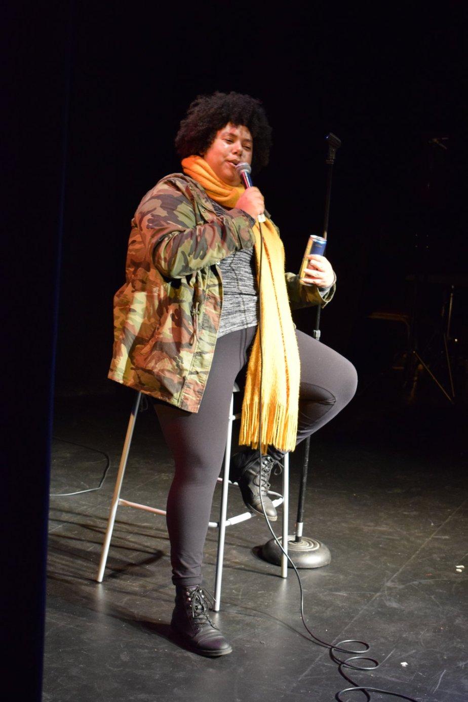 Comedian Valerie Vernale