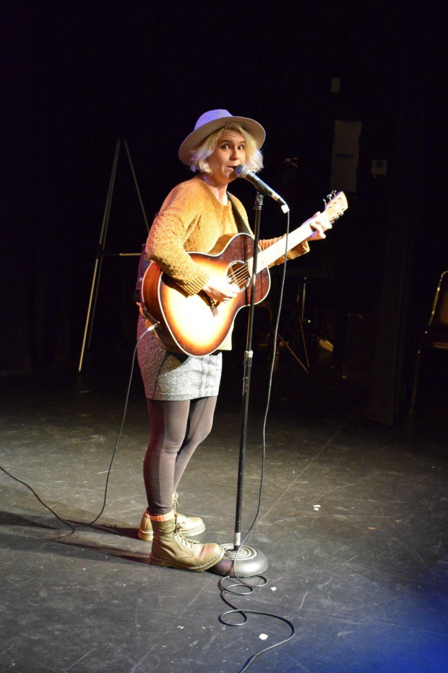 Comedian Samantha Gilweit